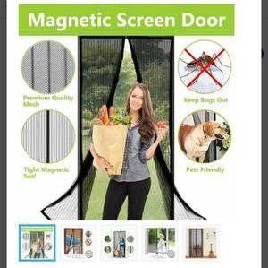 Magnetic Door Screen